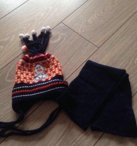 Новый комплект с шарфом