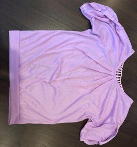 1. Блуза сиреневого цвета