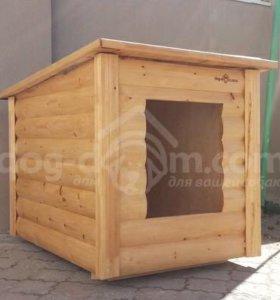 Будка для собаки модель «Дог-Дом» (односкатная)