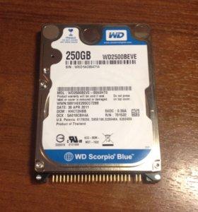 IDE жесткий диск 250гб