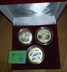 Набор медалей '' библия в иконах''коллекция #9