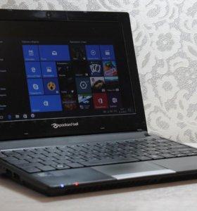 """ноутбук Packard Bell DOT 1.66Ггц/2Гб/SSD60Гб/10.1"""""""
