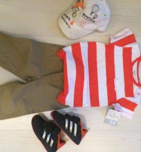 Новый комплект Carters боди и штаны , 24 мес