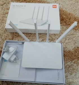 Xiaomi Mi WIFI Router 3 2,4 и 5ГГц не распечатаны