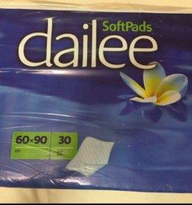 Одноразовые пелёнки Dailee (60x90)