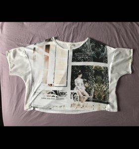 Майка футболка топ Zara