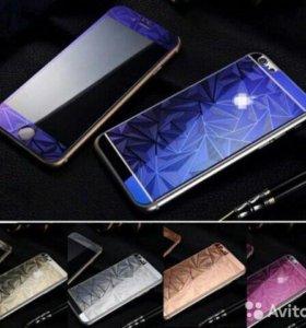 Защитные стекла diamond для iPhone 4/4s/5/5s/5se/6