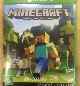 Продам диск Minecraft на X-BOX ONE