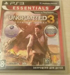 UNCHARTED 3, Angry Birds star wars на ps3.
