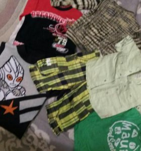 Пакет вещей на мальчика 3-4года в отл. состоянии