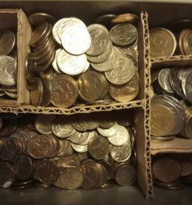 Коробка с колекциоными монетами