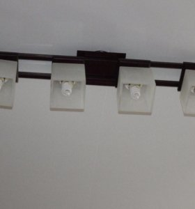Люстра 4 светильника Венге