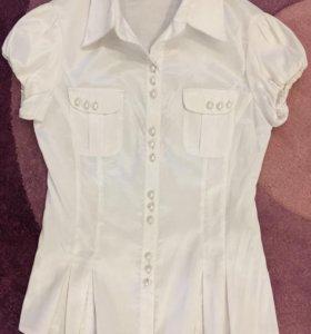 Блузка приталенная, размер 42-44