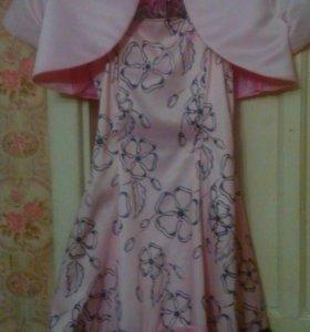 Праздничное платье + болеро