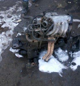 Двигатель 8 клапанный инжектор и каробка