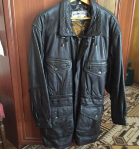 Кожаная куртка Том Tailor