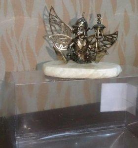Эльф бронзовый статуэтка