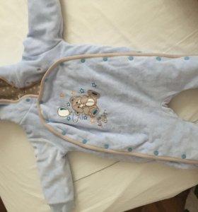 Одежда для новорожденного мальчика 0-3 комплектами