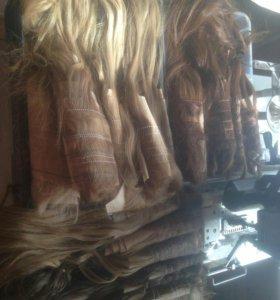 Промышленное окрашивание волос