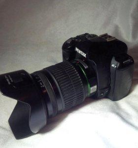 Фотоаппарат Pentax K-r с объективом 16-45 mm f/4