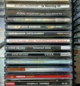 CD- диски рок 70-х! Домашняя коллекция меломана.