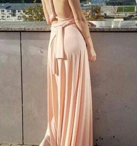 Вечернее платье-трансформер в пол, 42-44-46 р.