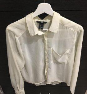 Рубашка(отдам вместе с жилеткой)