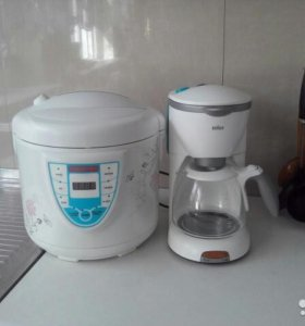 Мультиварка и кофеварка