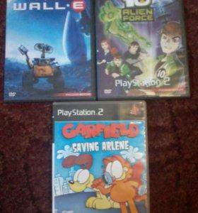 Диски для чипованых PlayStation 2