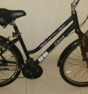 Новый женский велосипед.