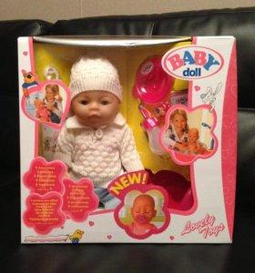 Кукла baby born(baby doll)