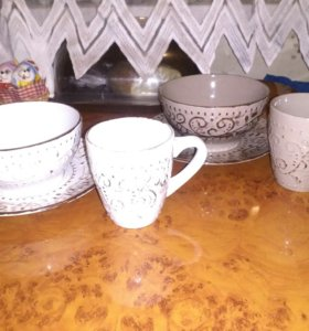 Чашка,тарелка,пиала