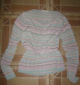 Шелковая блузка 42р