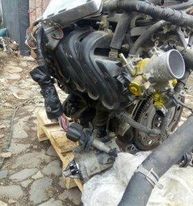 Двигатель 1 nz с навесным