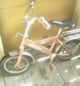 Велосипед на 3-4года