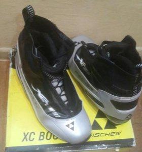 Лыжные ботинки FISCHER XC COMFORT SILVER THINS