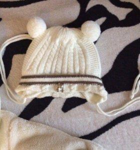 Детская шапочка очень/зима