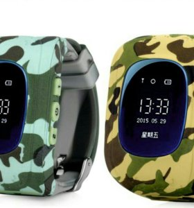 Smart baby watch q50 military edition
