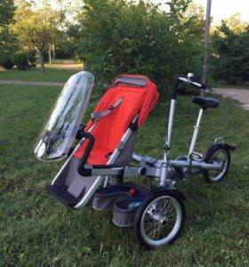 Велосипед-коляска в идеальном состоянии!