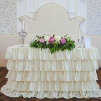 Букет невесты и оформление зала