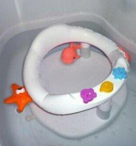 Продам ванночку и стульчик для купания малышей