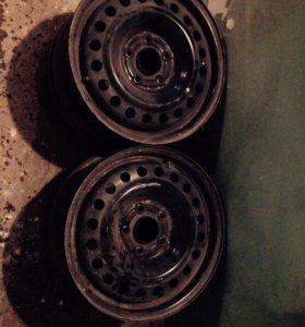 Штампованные диски R-16
