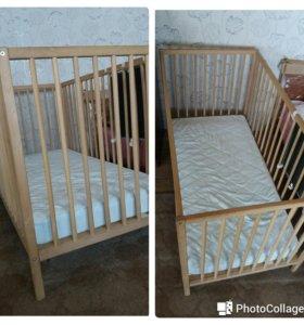 Кроватка детская Икея.