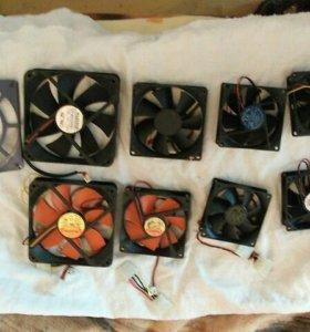 Вентиляторы(куллера) различные