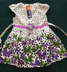 Новые хлопковые платья
