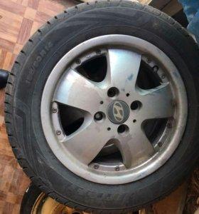 Диски и новые шины р14