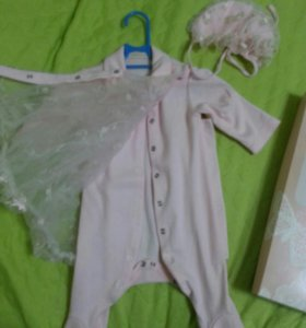 платье на выписку для девочки