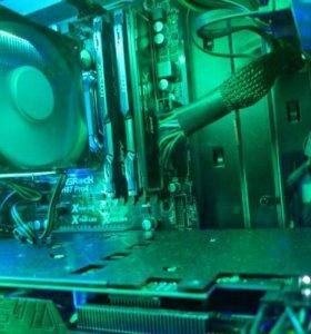 Intel core i5 4670 + asRock H87 pro4 + 12 gb. Озу