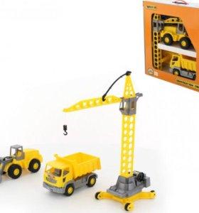 Набор строительной техники