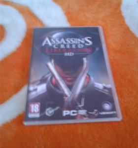 диск ASSASSINS CREED LIBERATION HD